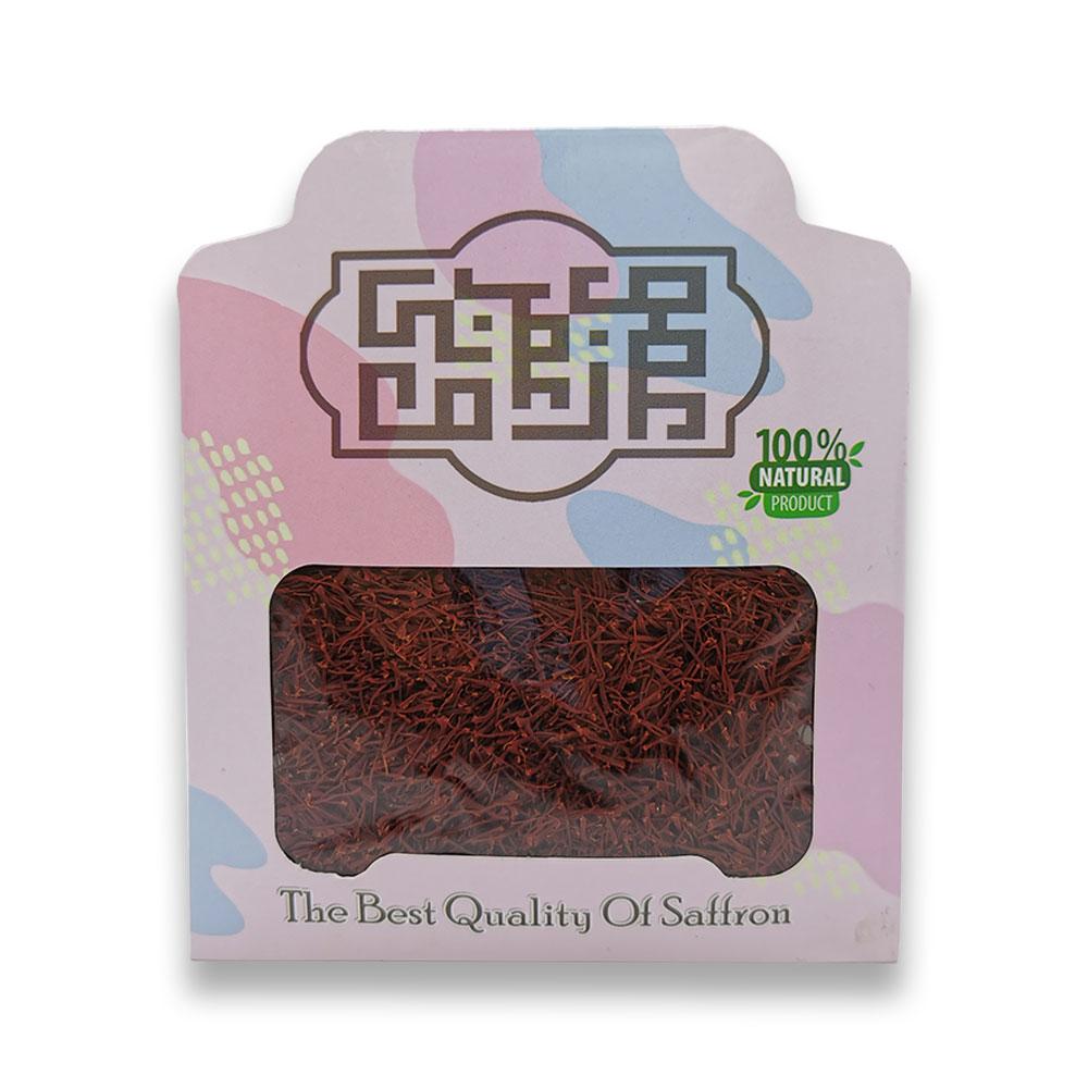 زعفران سرگل ممتاز ۱ مثقالی در بسته بندی پاکتی